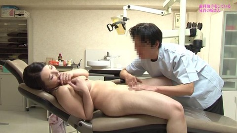 歯科助手をしている兄貴の嫁さん (13)
