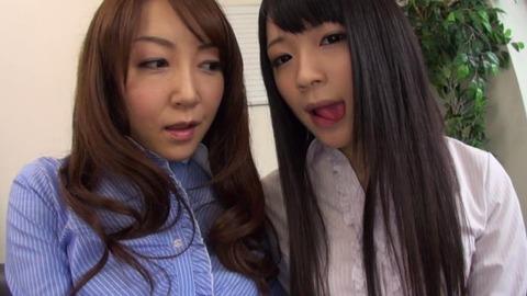 濃厚べろキス美女ヨダレまみれ淫交 (38)