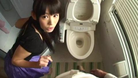 M男の包茎チ○ポを弄る美少女-018