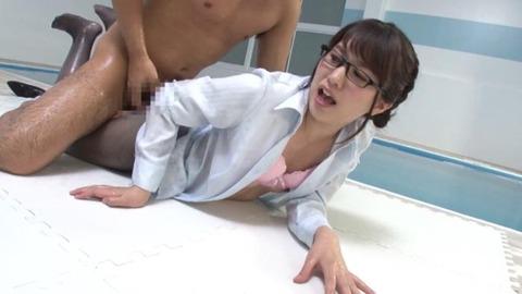黒パンスト女教師 (37)