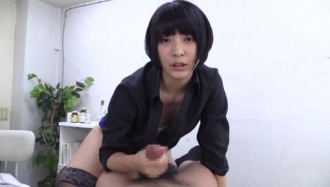 M男の包茎チ○ポを弄る美少女-003