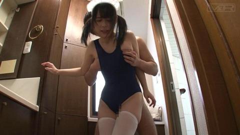 スク水ニーハイデカ尻家政婦 (22)