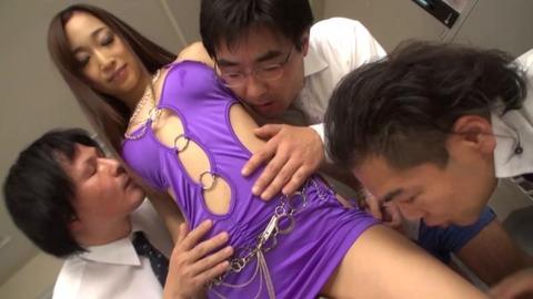 淫猥レオタード美女顔射-34