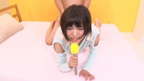 大量精子ごっくんする淫語実況ロリ女子アナウンサー青山未来-041