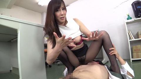 パンスト直穿き痴女熟女、澤村レイコ (30)