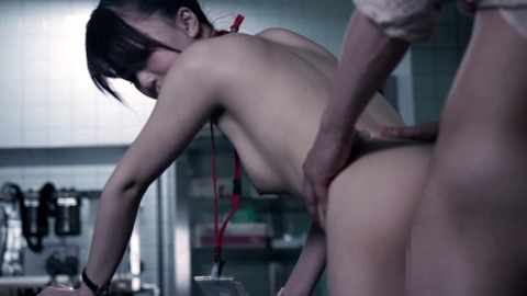 ナースと患者の中出しセックス-045