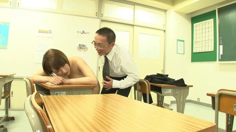 巨乳でソソる女教師 (50)
