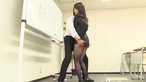 黒パンスト女教師 (2)