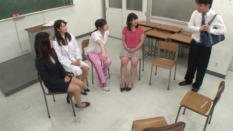 巨乳女教師とハーレムセックス画像-017