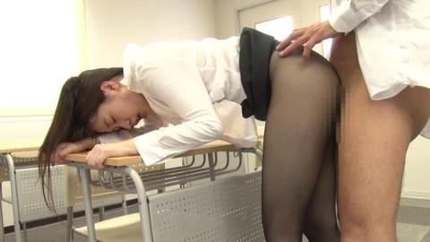 黒パンスト女教師 (13)