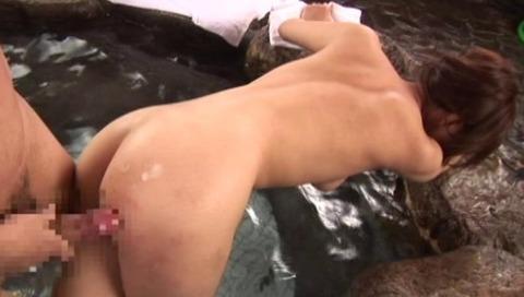 超絶美女と湯けむり温泉FUCK29枚目