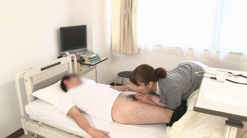 精液採取する淫乱ナース_005