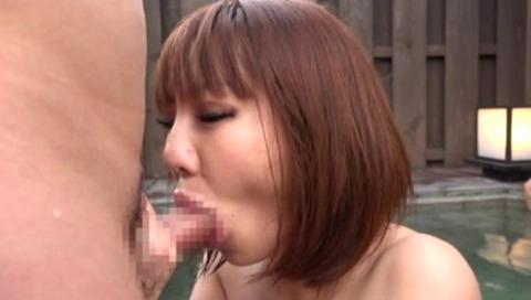 超絶美女と湯けむり温泉FUCK14枚目