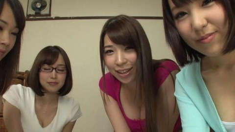 巨乳だらけの女子大生寮で毎日種付SEX01枚目