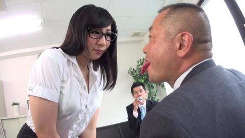濃厚べろキス美女ヨダレまみれ淫交 (7)