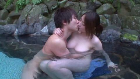 超絶美女と湯けむり温泉FUCK07枚目