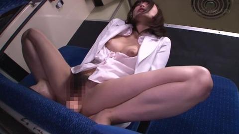 【痴漢】膣内発情女 (8)