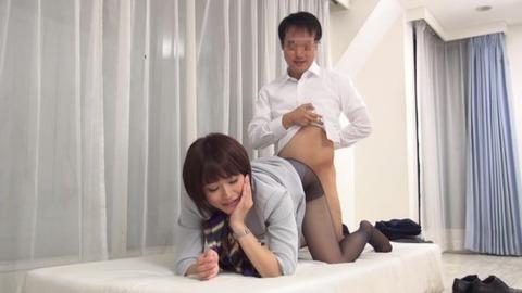 憧れていた取引先の美人社員と赤面sex-042