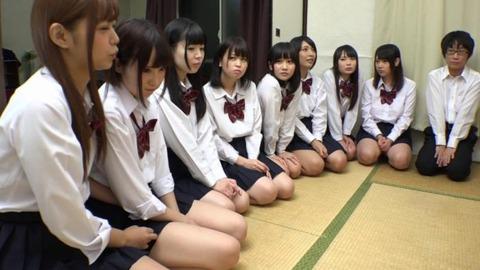 女子寮でパンチラ祭-46