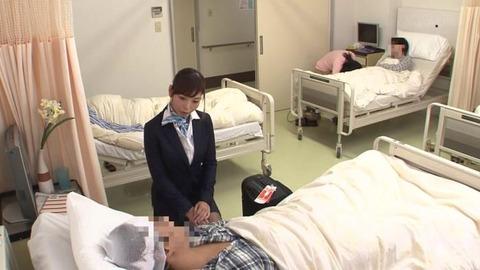 入院中に叔母さんに抜いてもらった (1)