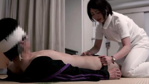 ナースと患者の中出しセックス-015