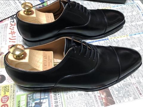【朗報】ぼくリーマン、そこそこ良い革靴を購入して満足wwwwwwwwwwwwwwwww