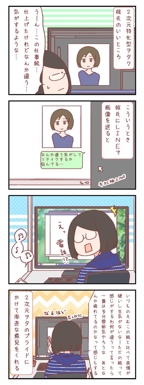 彼氏が2次元特化型ヲタクで助かっていること(婚活編)【ろぐ833】