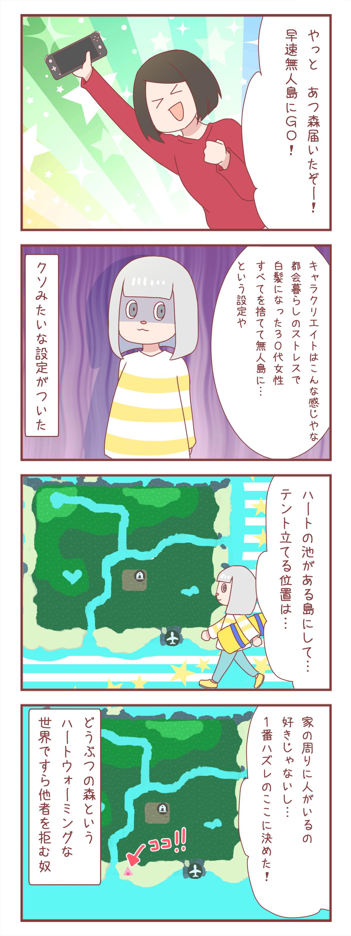 森 ランキング あつ キャラクター