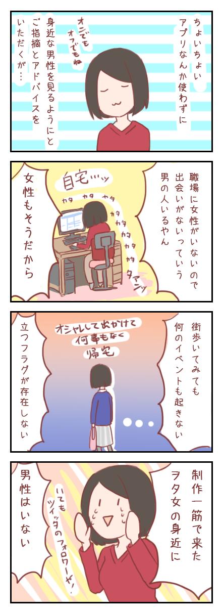 【ろぐ148】アラサー婚活ヲタ女の心の絶叫(婚活アプリ編)