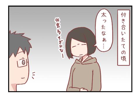 私にダイエットを決意させた彼氏の言葉(婚活編)【ろぐ850】