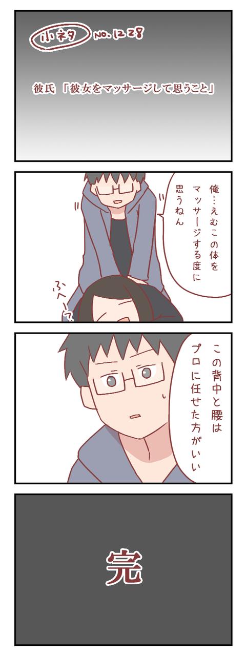 【小ネタ】彼氏「彼女をマッサージして思うこと」(婚活編)