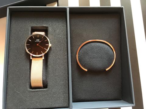 腕時計とカフ