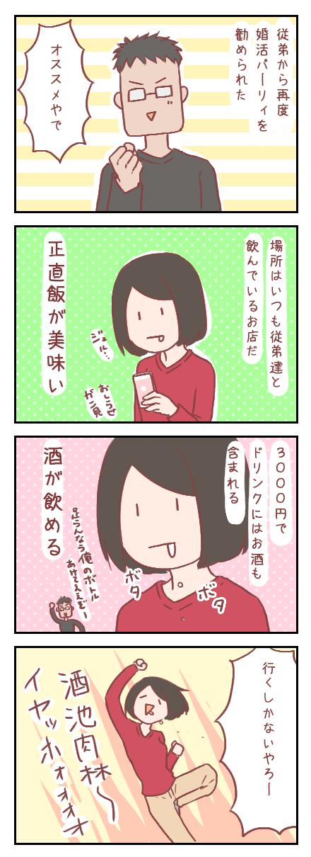 【ろぐ172】欲望のままに婚活パーティ(婚活編)