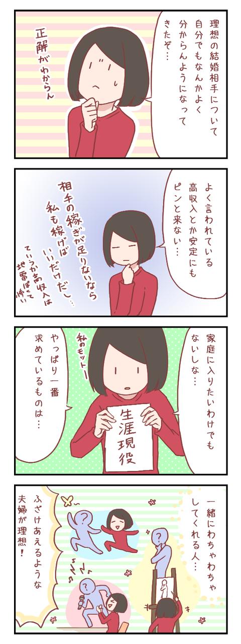 【ろぐ360】理想のお相手とは(婚活編)