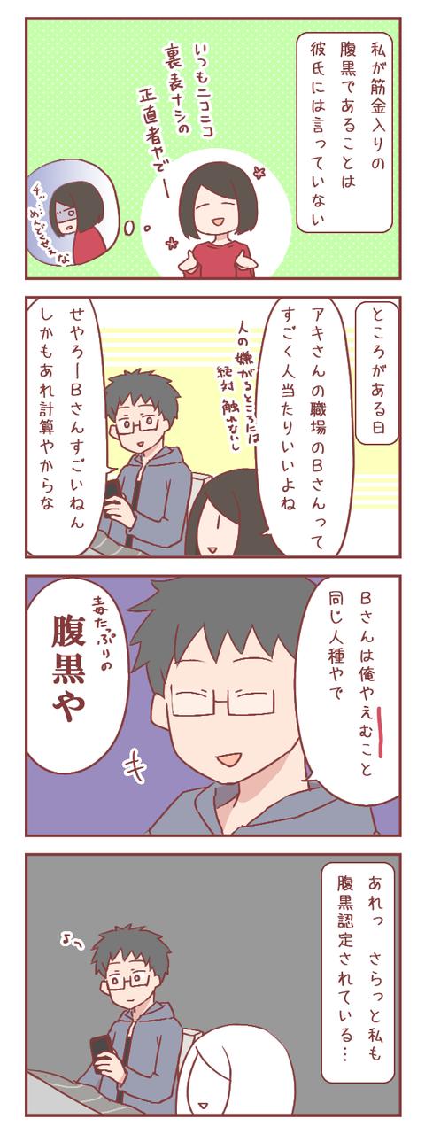彼氏には隠していたつもりが…(婚活編)【ろぐ887】