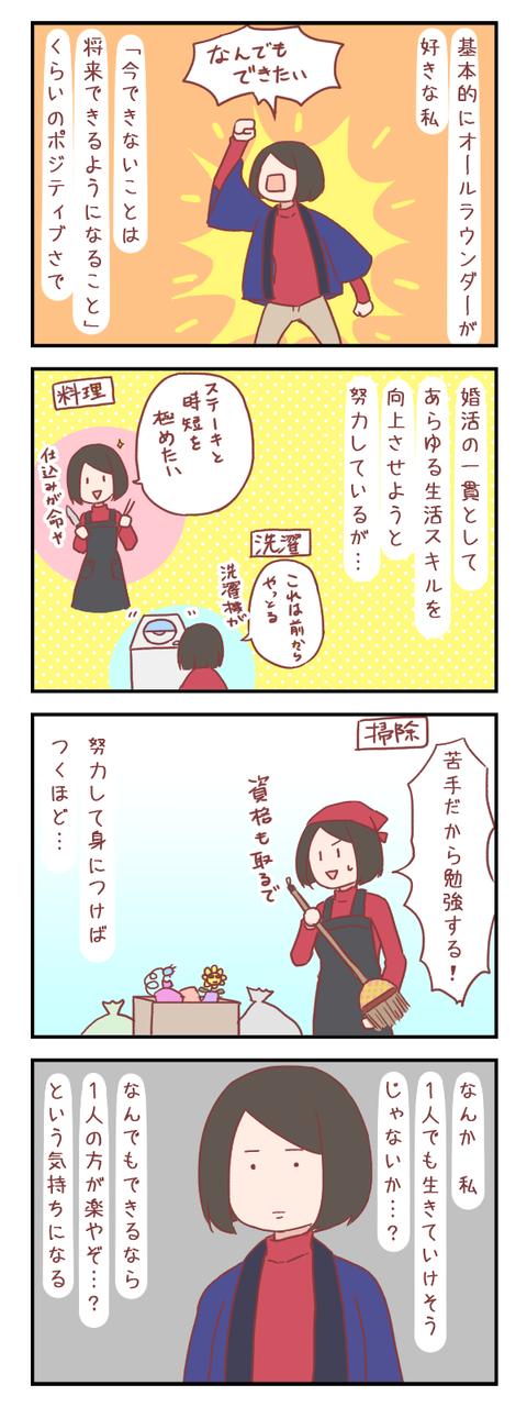 【ろぐ439】結婚する意味を考えてしまう(婚活編)