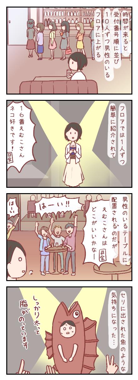 【ろぐ221】初めての婚活パーティ②男性陣への紹介(婚活編)