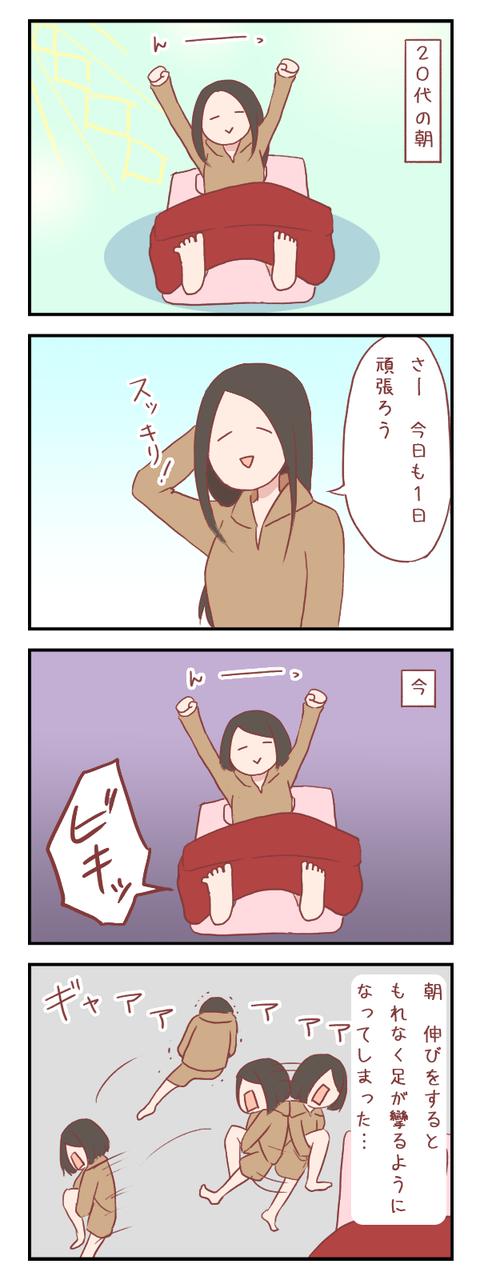 20代と30代の朝の違い【ろぐ597】