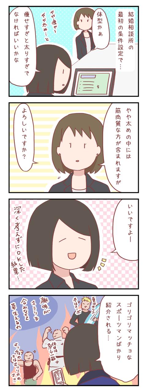 「やや太め」体型の落とし穴(婚活編)【ろぐ519】