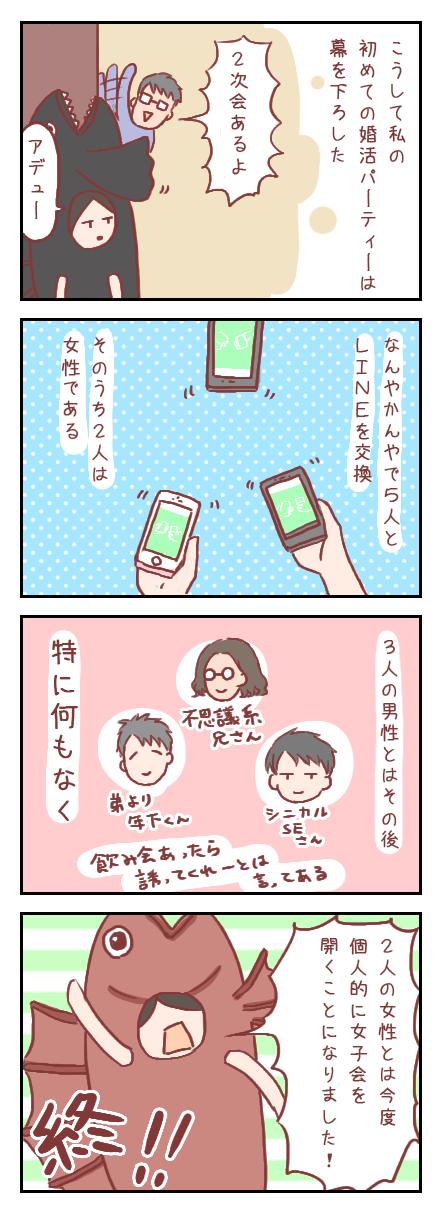 【ろぐ230】初めての婚活パーティ⑥得たものは(婚活編)