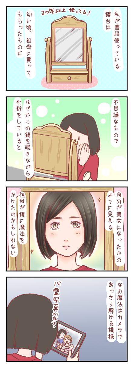 【ろぐ213】祖母にもらった鏡の魔法