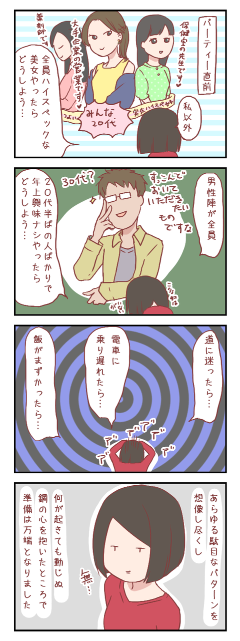 【ろぐ277】臆病者のパーティー準備(婚活編)