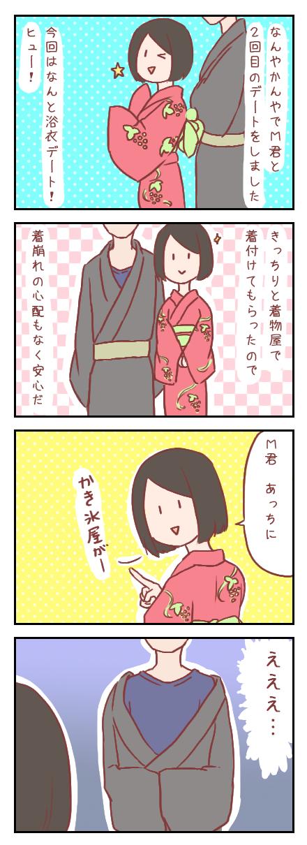 【ろぐ185】眼鏡男子と浴衣デートをしてきたよ①(婚活編)