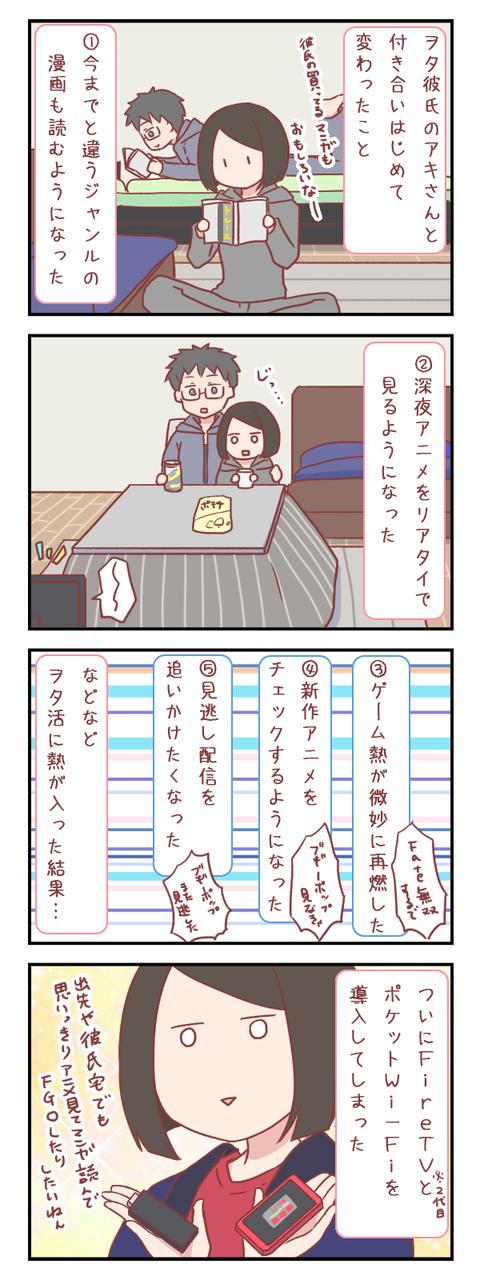 ヲタク彼氏と付き合い始めて起きた変化とその結果(婚活編)