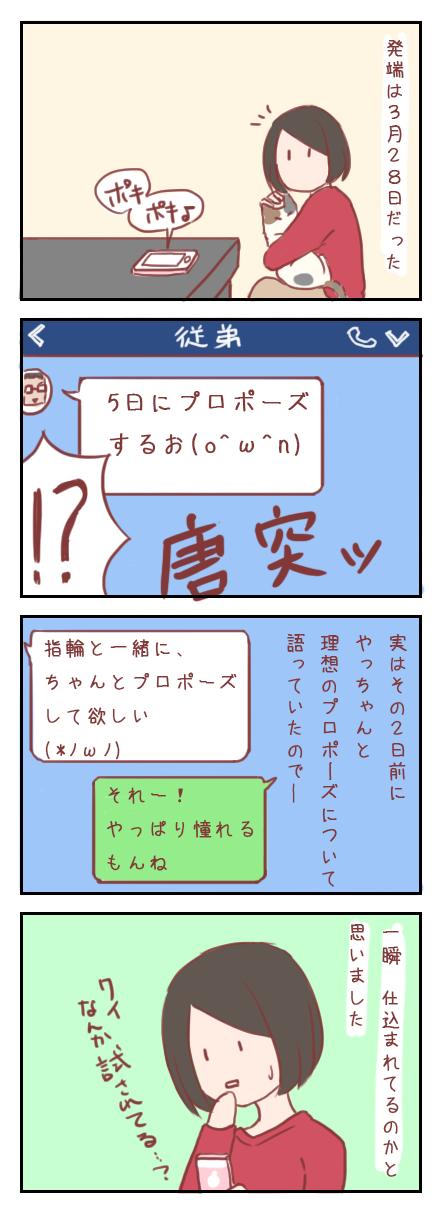 サプライズ☆プロポーズ大作戦~序章