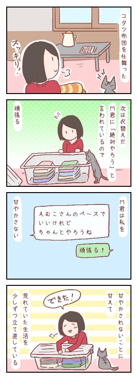 【ろぐ167】生活の立て直し(婚活編)