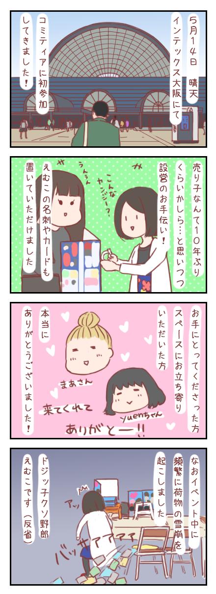 【ろぐ112】コミティア大阪参加してきました!!