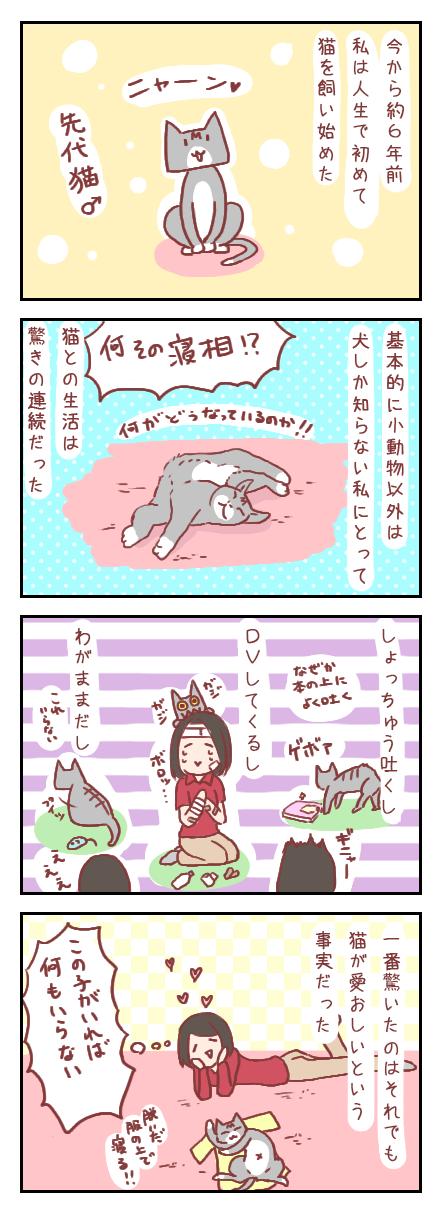 【ろぐ186】先代猫との思い出