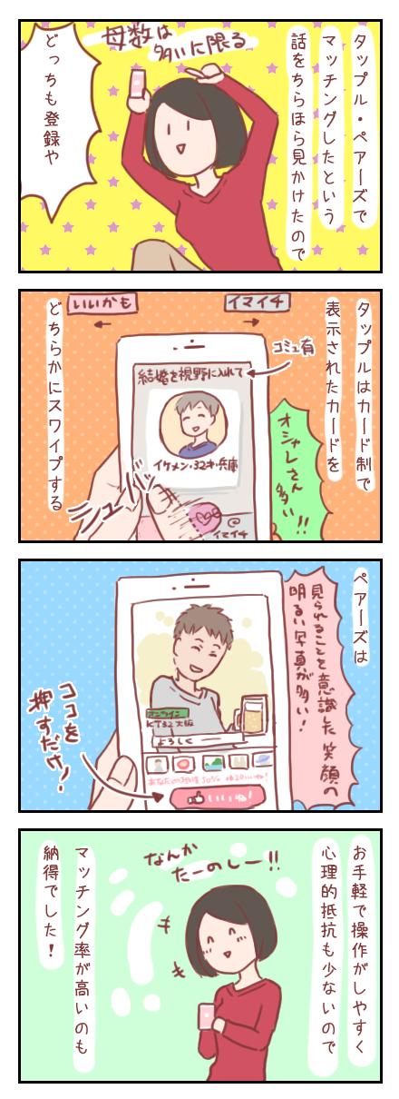 【ろぐ114】Facebook系アプリを試してみたよ!(婚活アプリ編)