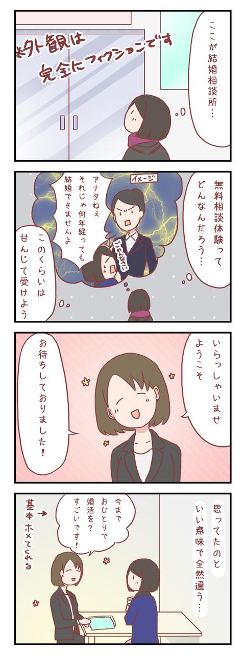 【ろぐ447】初めての結婚相談所(婚活編)